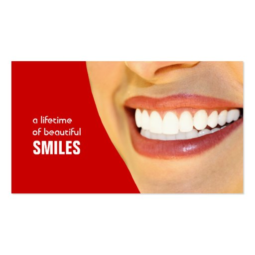 Dentist Business Cards Color changeable