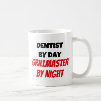 Dentist by Day Grillmaster by Night Mugs