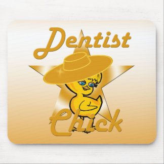 Dentist Chick #10 Mouse Pad
