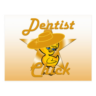 Dentist Chick #10 Postcard