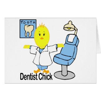 Dentist Chick Card