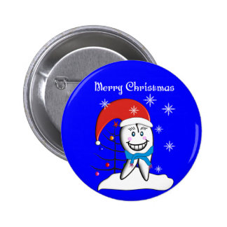 Dentist Christmas Cards and Gifts Button