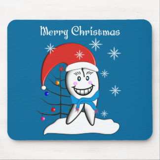 Dentist Christmas Cards and Gifts Mouse Pad