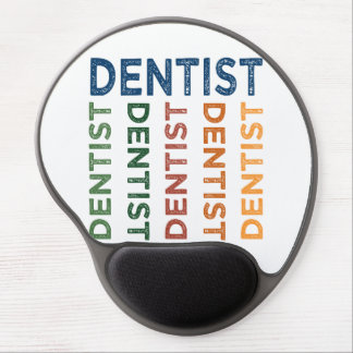 Dentist Cute Colorful Gel Mouse Pad