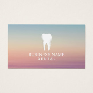 Dentist Dental Care Appointment Elegant Business Card