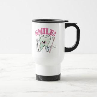 Dentist Dental Hygienist 15 Oz Stainless Steel Travel Mug