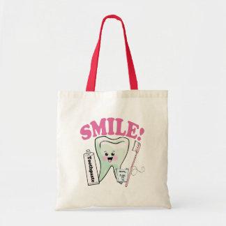 Dentist Dental Hygienist Budget Tote Bag