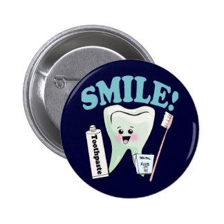Dentist Dental Hygienist Button