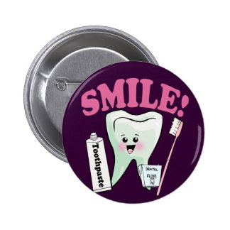 Dentist Dental Hygienist 2 Inch Round Button