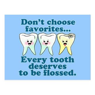 Dentist Dental Hygienist Dentistry Postcard