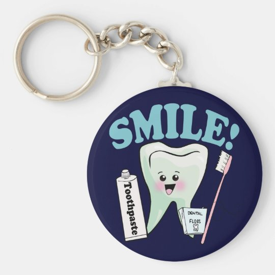 Dentist Dental Hygienist Keychain