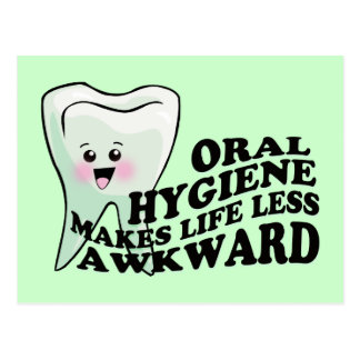 Dentist Dental Hygienist Orthodontist Postcard