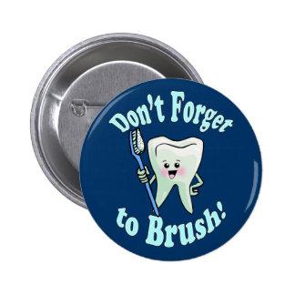 Dentist Dental Hygienist Pinback Button