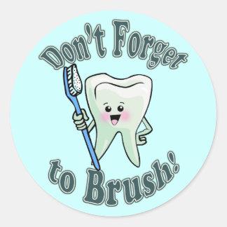 Dentist Dental Hygienist Stickers