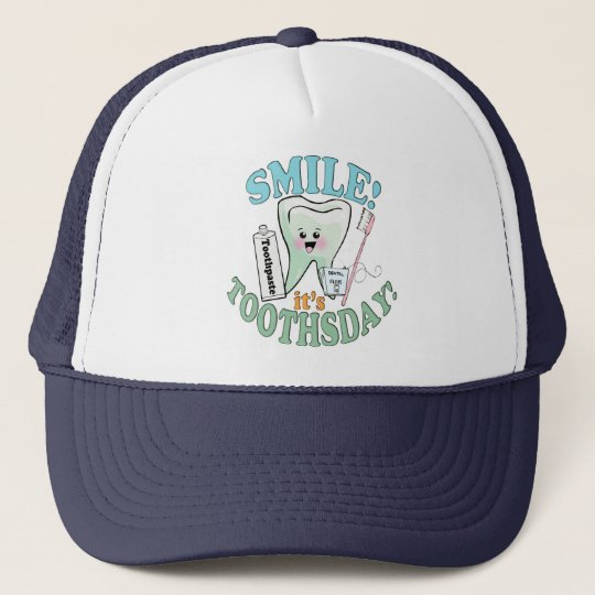 Dentist Dental Hygienist Trucker Hat