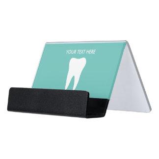 Dentist dental office desk business card holder