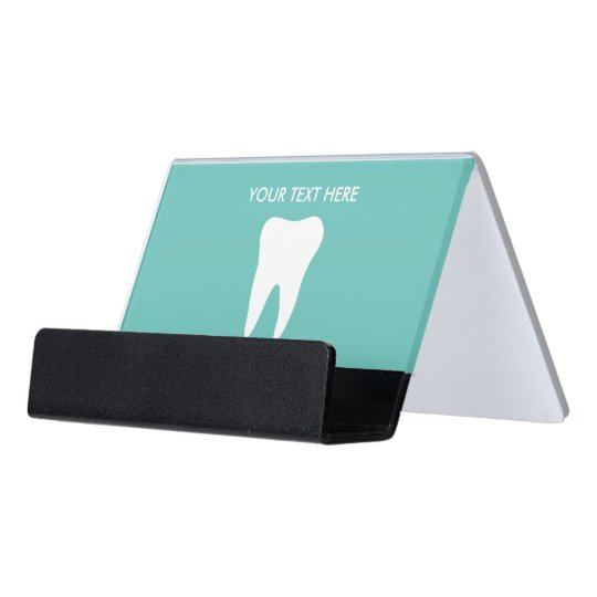 Dentist dental office desk business card holder zazzle dentist dental office desk business card holder colourmoves