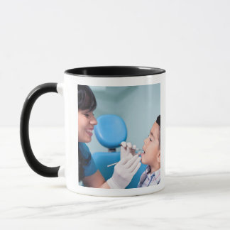 DENTIST, DOCTOR AND PATIENCE RELATIONSHIP MUG