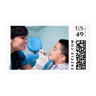 DENTIST, DOCTOR AND PATIENCE RELATIONSHIP POSTAGE
