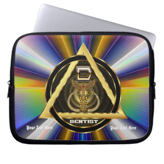 Dentist Electronics Carry Case view about Design Laptop Computer Sleeve