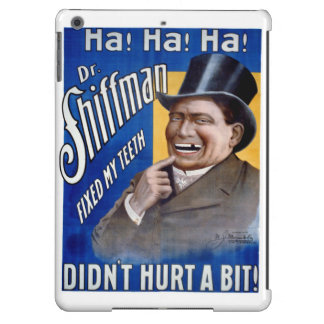 Dentist fixed my teeth Vintage Poster Restored iPad Air Case