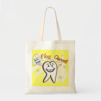 """Dentist """"Floss Queen"""" T-Shirts and Gifts Bag"""