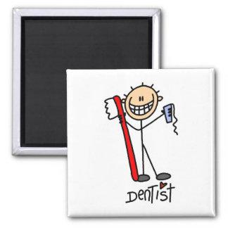 Dentist Gift 2 Inch Square Magnet