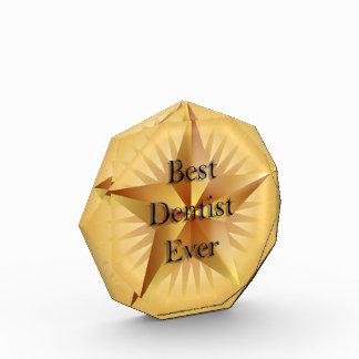 Dentist Gold Star Octagon Award
