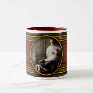 Dentist - Good oral hygiene 1918 Two-Tone Coffee Mug
