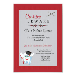Dentist Graduation Invitation