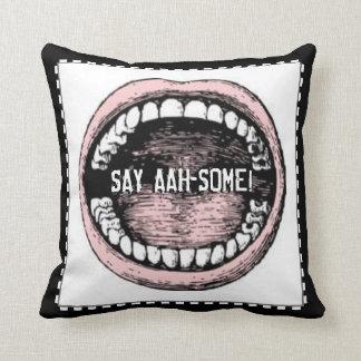 Dentist Graduation Throw Pillow