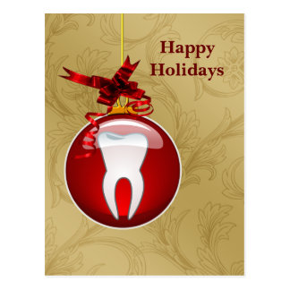 Dentist Holiday Cards Postcard