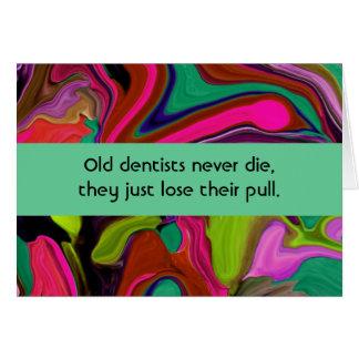 dentist humor card