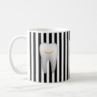 Dentist Hygienist Dental Assistant Modern Stripes Coffee Mug