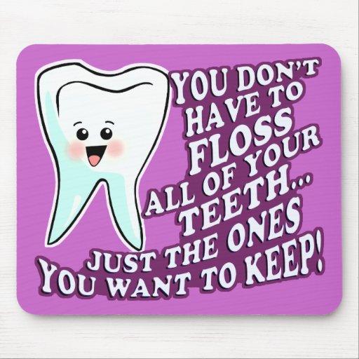 Dentist Hygienist or Orthodontist Mousepads