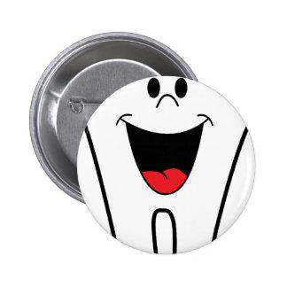 Dentist Image 2 Inch Round Button