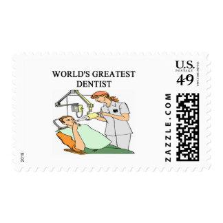 DENTIST joke Postage Stamps