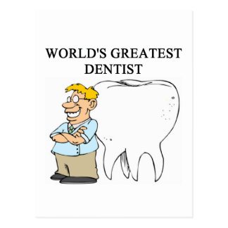 DENTIST joke Postcard