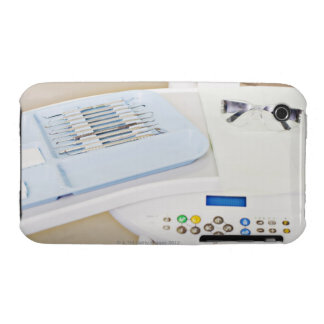 Dentist machinery, safety goggles and implements iPhone 3 Case-Mate case