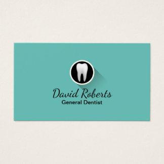 Dentist Modern Tooth Logo Professional Dental Care Business Card