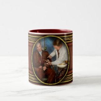 Dentist - Monkey Business 1924 Two-Tone Coffee Mug