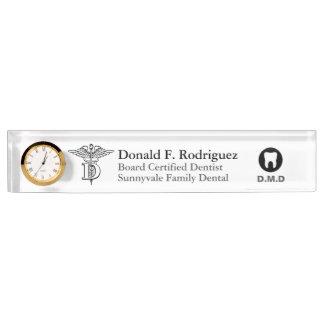 Dentist Office Customized Nameplate