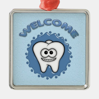 Dentist Office Door Hanger Metal Ornament