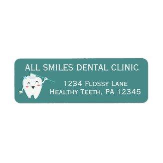 Dentist Office Return Address Labels
