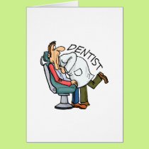 Dentist Open Wide Card