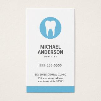 Dentist or dental clinic / assistant modern blue business card