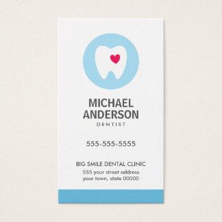 Dentist or dental clinic / assistant modern business card