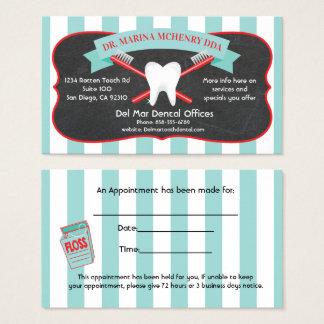 Dentist or Dental Hygienist Business cards