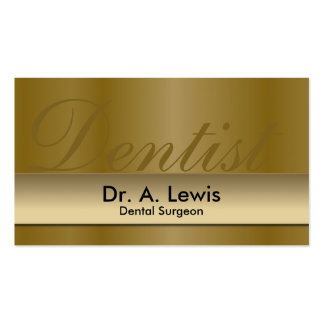 Dentist Orthodontist Appointment Business Card