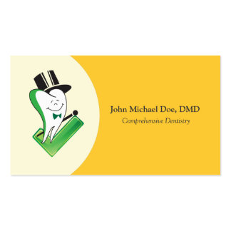 Dentist / Orthodontist Business Cards Template
